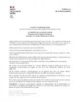 AP du 11 septembre 2020 portant limitation provisoire des usages de l'eau (niveau crise) (2)