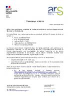 2021 01 13 CP Ouverture des centres de vaccination en Haute-Saône